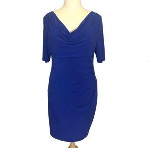 Lauren Ralph Lauren Blue Cocktail Dress Size 18